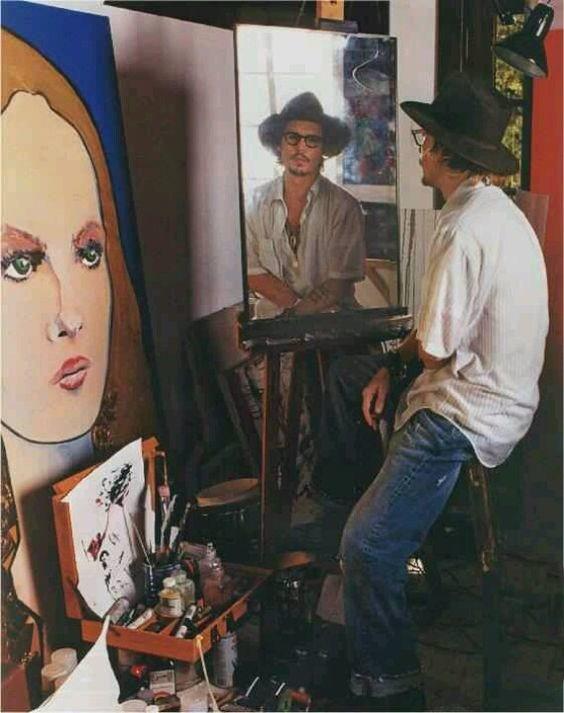 pinturas de johnny depp 5