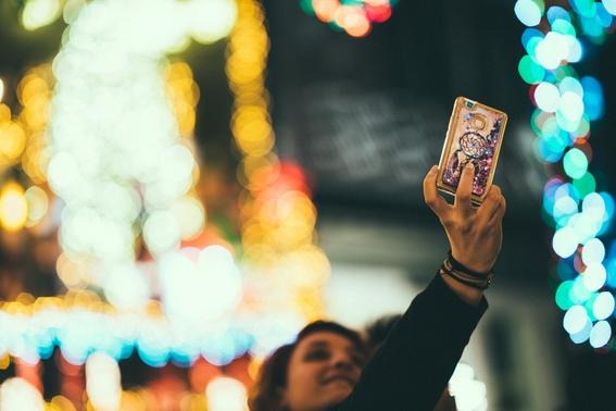 selfies con obras de arte 2