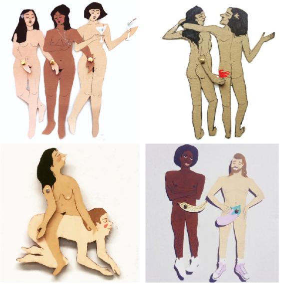 ilustraciones sobre sexualidad 2