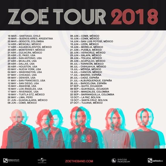 zoe anuncia nueva gira 2018 1