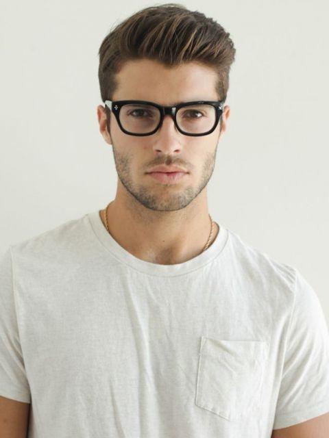 cortes de cabello para hombres hacia un lado