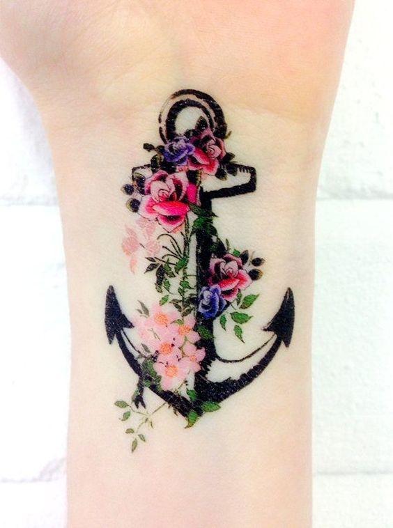 tatuajes de anclas 5