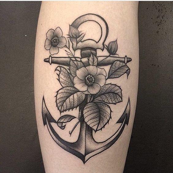 tatuajes de anclas 11