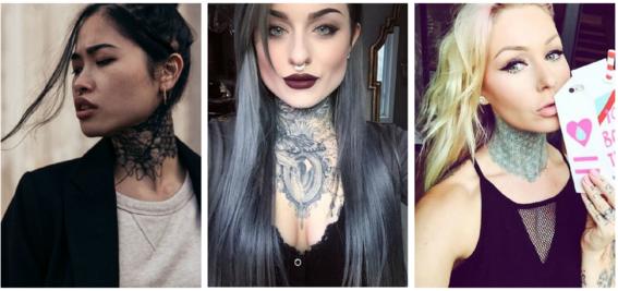 tatuajes en el cuello para mujeres 3