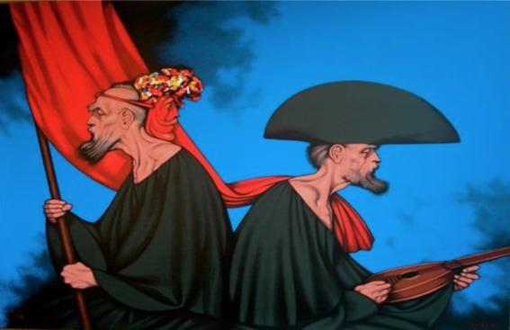 pinturas de rafael coronel 1