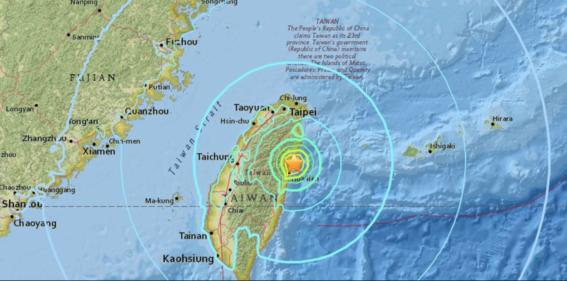terremoto en taiwan 1
