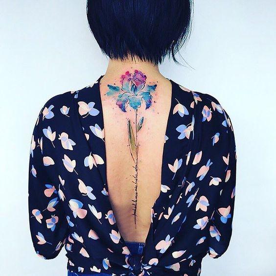 spine tattoo designs 9