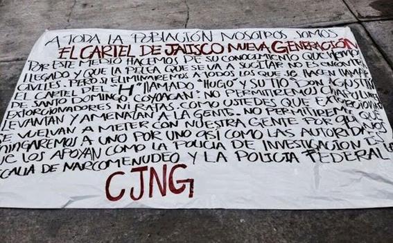 cuantos carteles operan en la ciudad de mexico 2