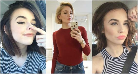 acomodar cabello para selfies 3