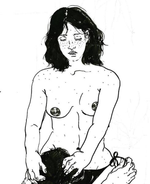 ilustraciones eroticas 9