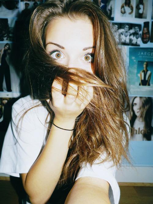 acomodar cabello para selfies 1