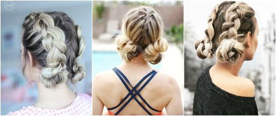 double bun hairstyle 6
