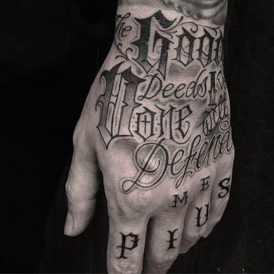 tipografias para tatuajes 2
