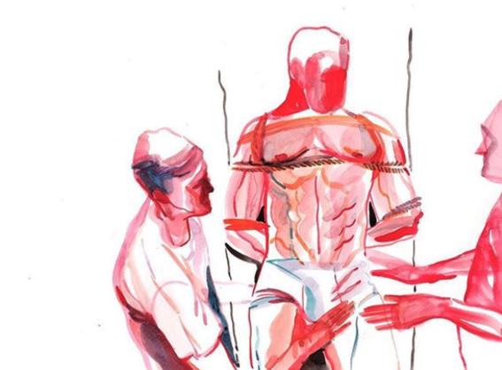ilustraciones de watercolor porn 5