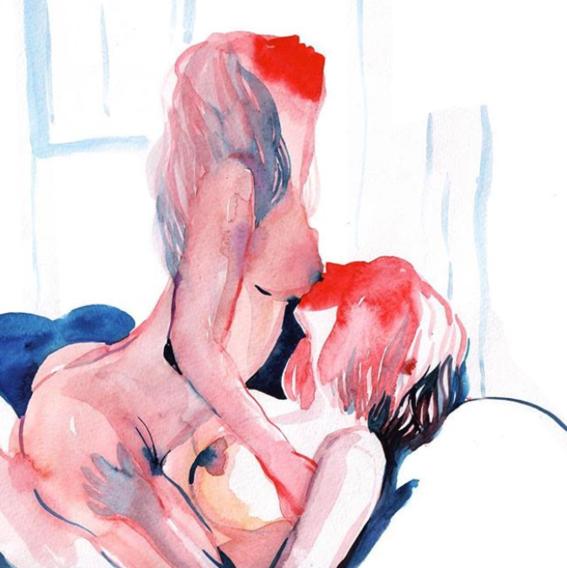 ilustraciones de watercolor porn 7