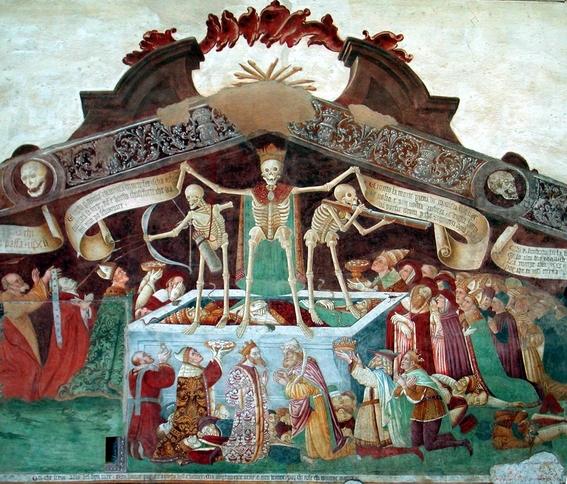 pinturas de la danza macabra 1