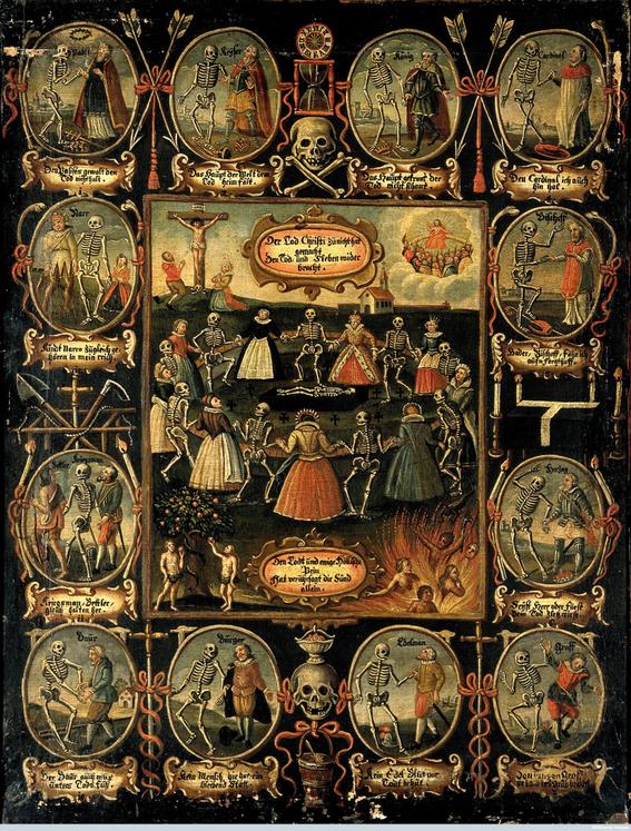 pinturas de la danza macabra 2