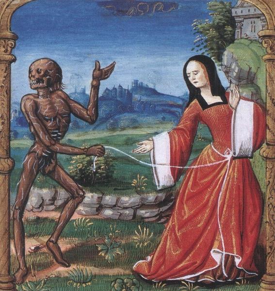 pinturas de la danza macabra 4
