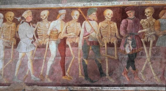 pinturas de la danza macabra 6