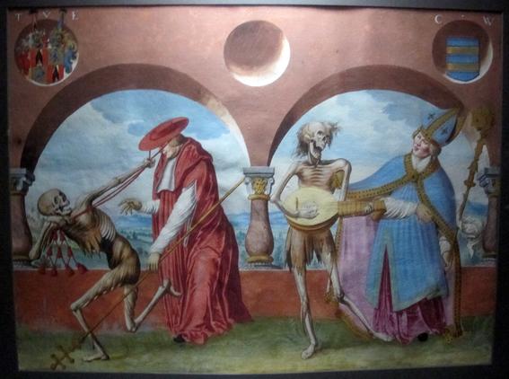 pinturas de la danza macabra 3
