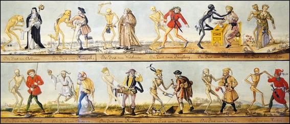 pinturas de la danza macabra 7