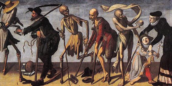 pinturas de la danza macabra 9