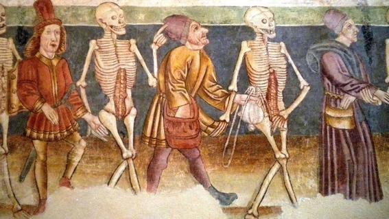 pinturas de la danza macabra 10