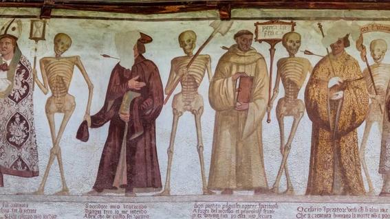 pinturas de la danza macabra 12