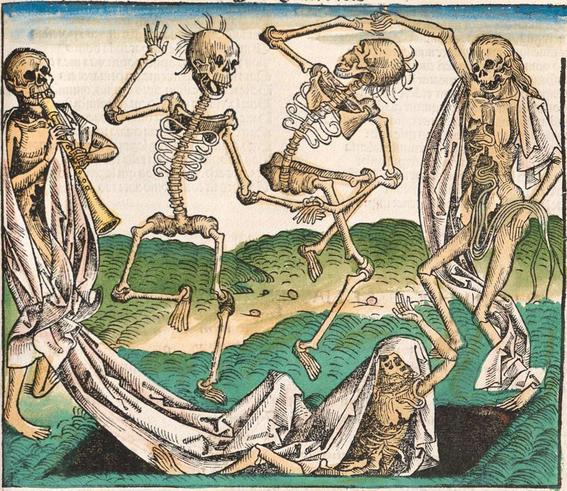 pinturas de la danza macabra 14