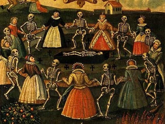 pinturas de la danza macabra 15