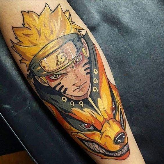 tatuajes de anime 13