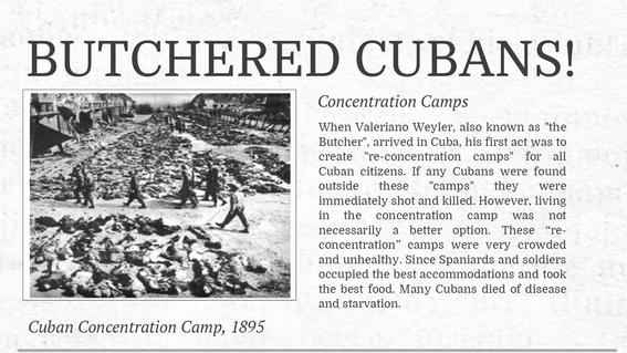 holocausto cubano 1