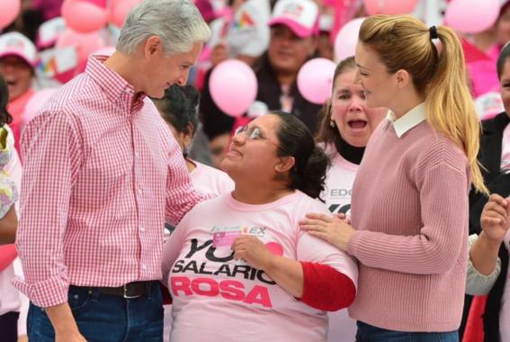 entregan salario rosa en el estado de mexico 1