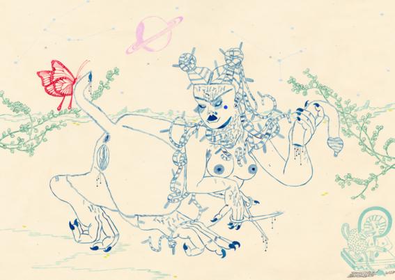 ilustraciones de los demonios eroticos 10