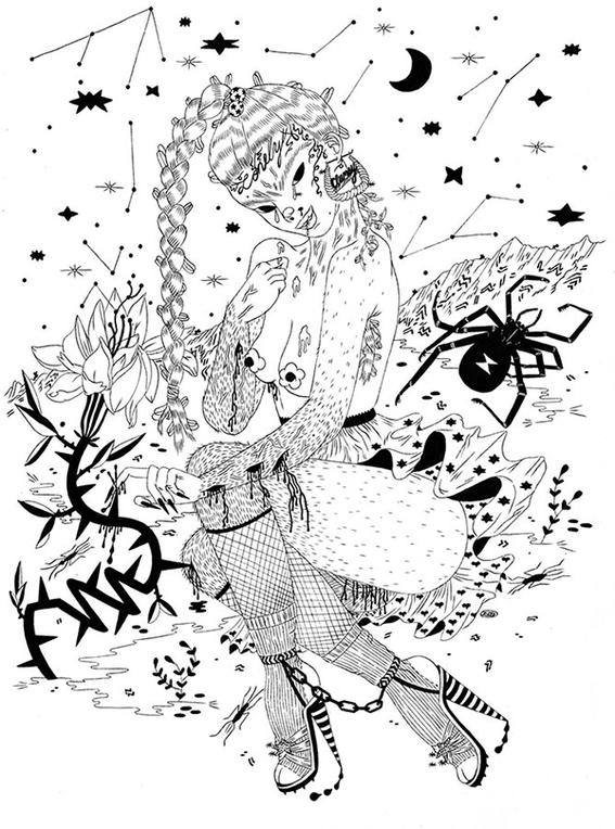 ilustraciones de los demonios eroticos 16