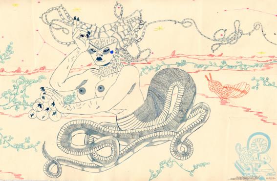 ilustraciones de los demonios eroticos 6