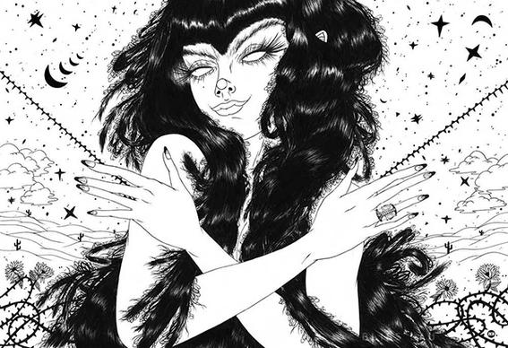 ilustraciones de los demonios eroticos 9