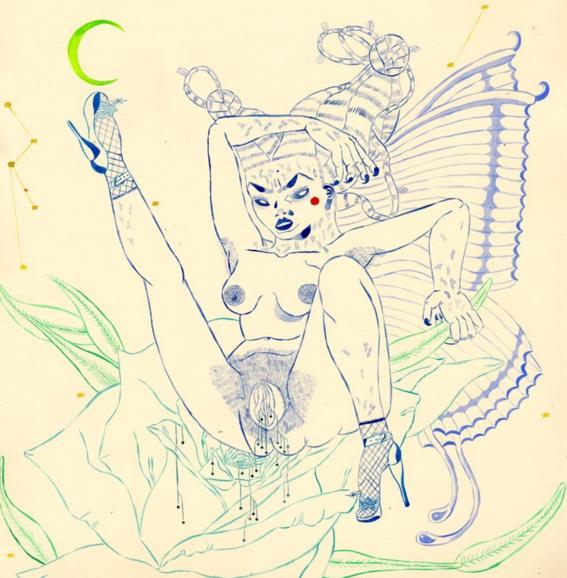 ilustraciones de los demonios eroticos 13