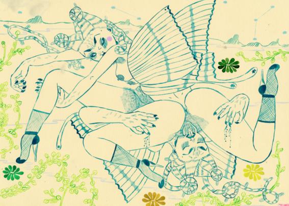 ilustraciones de los demonios eroticos 17