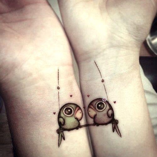 tatuajes de animales para parejas 3