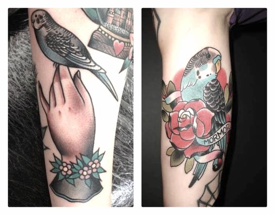 tatuajes de animales para parejas 4