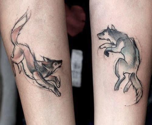 tatuajes de animales para parejas 5