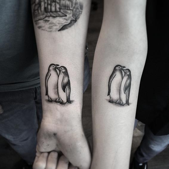 tatuajes de animales para parejas 8