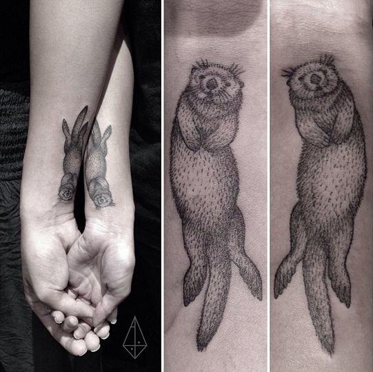 tatuajes de animales para parejas 10