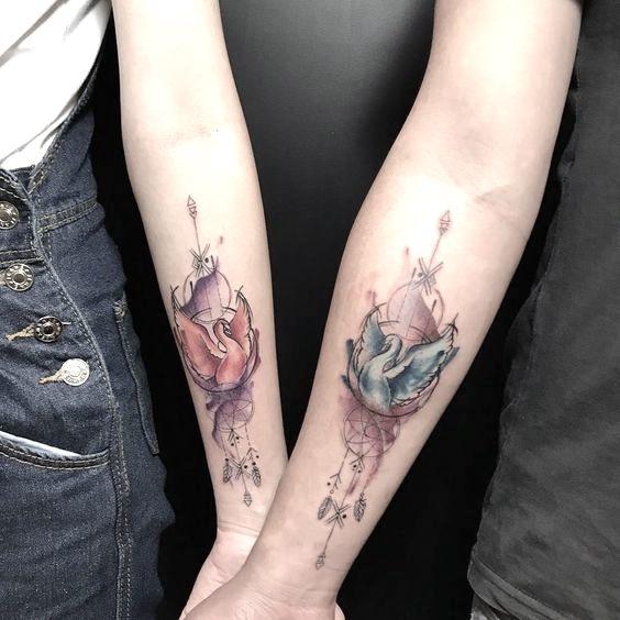tatuajes de animales para parejas 11