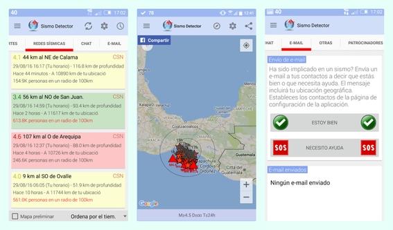 aplicaciones para detectar temblores 4