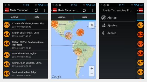 aplicaciones para detectar temblores 6