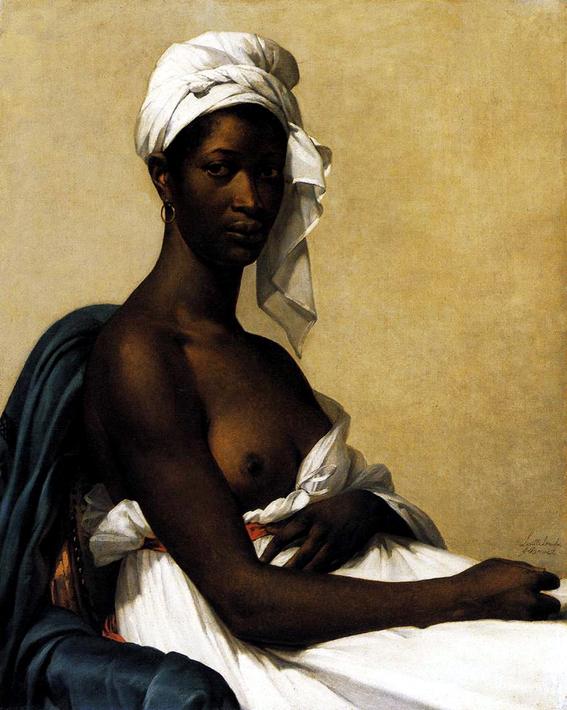 marie benoist portrait of a black woman 1