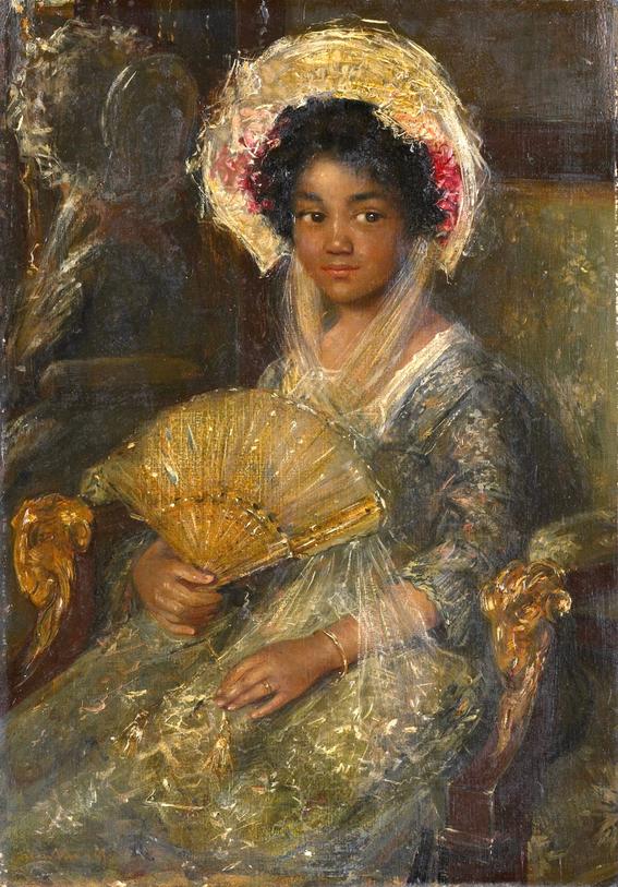 marie benoist portrait of a black woman 2