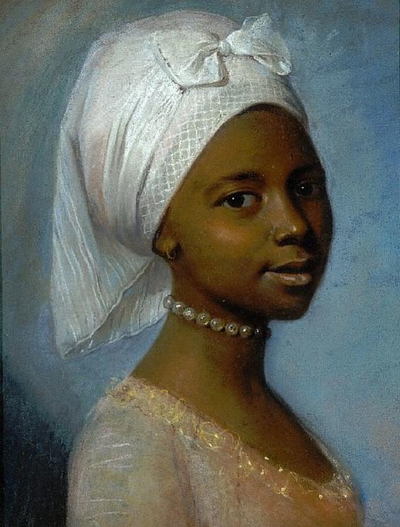 marie benoist portrait of a black woman 3